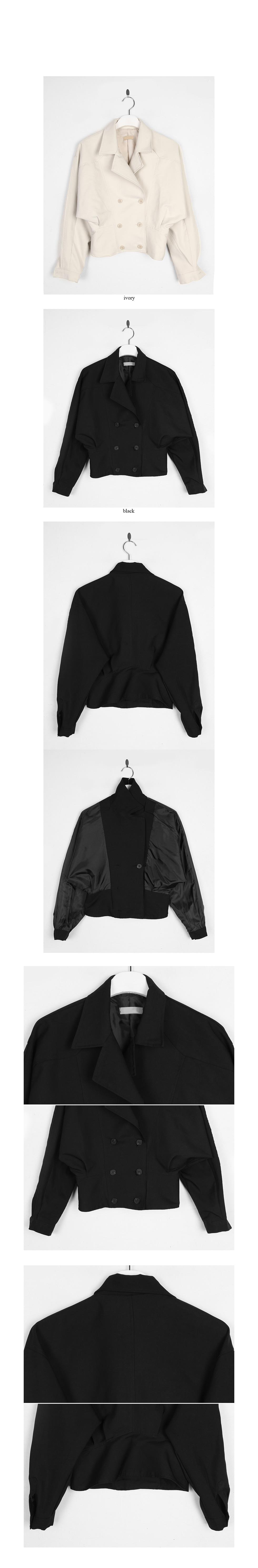 bat-wing double short jacket