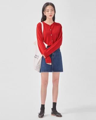 winnie crop cardigan