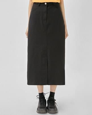 mine H-line cotton skirt