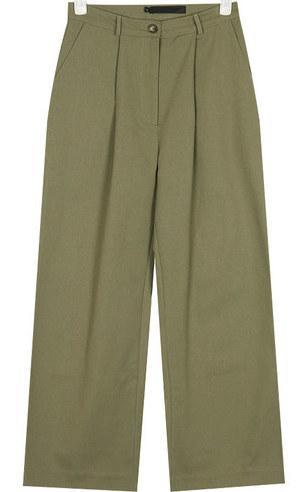 baguette wide cotton pants
