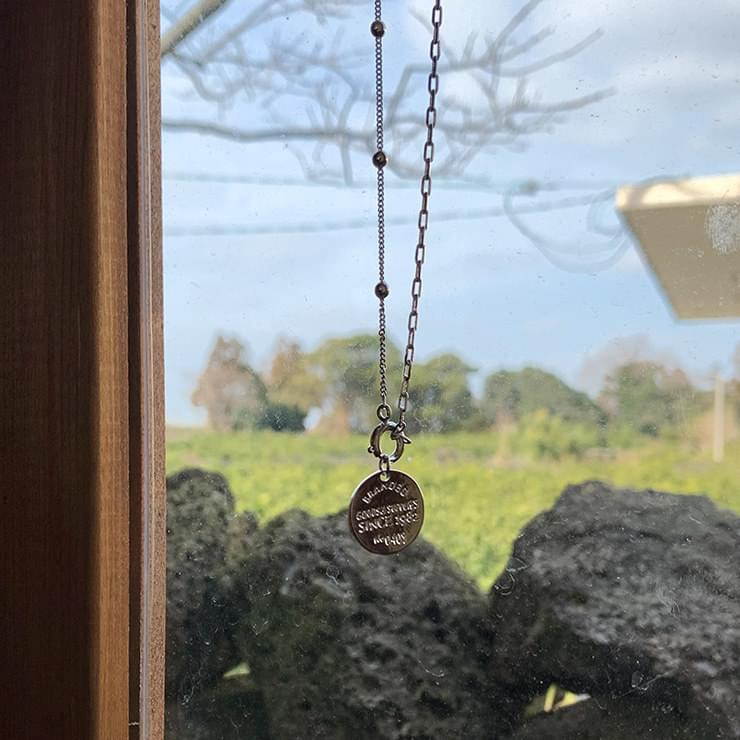 Pig Chain Silver Necklace