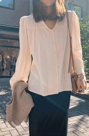 Geumnak Neck Blouse