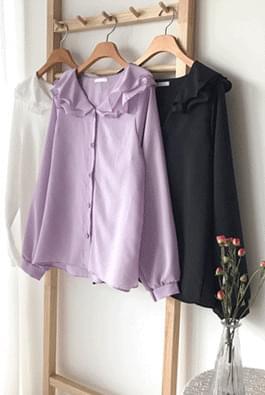 Double shearing blouse