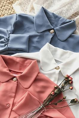 Bean jewelery blouse