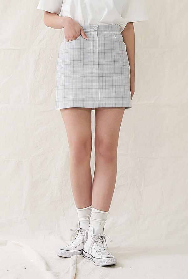 Dimorphic miniskirt