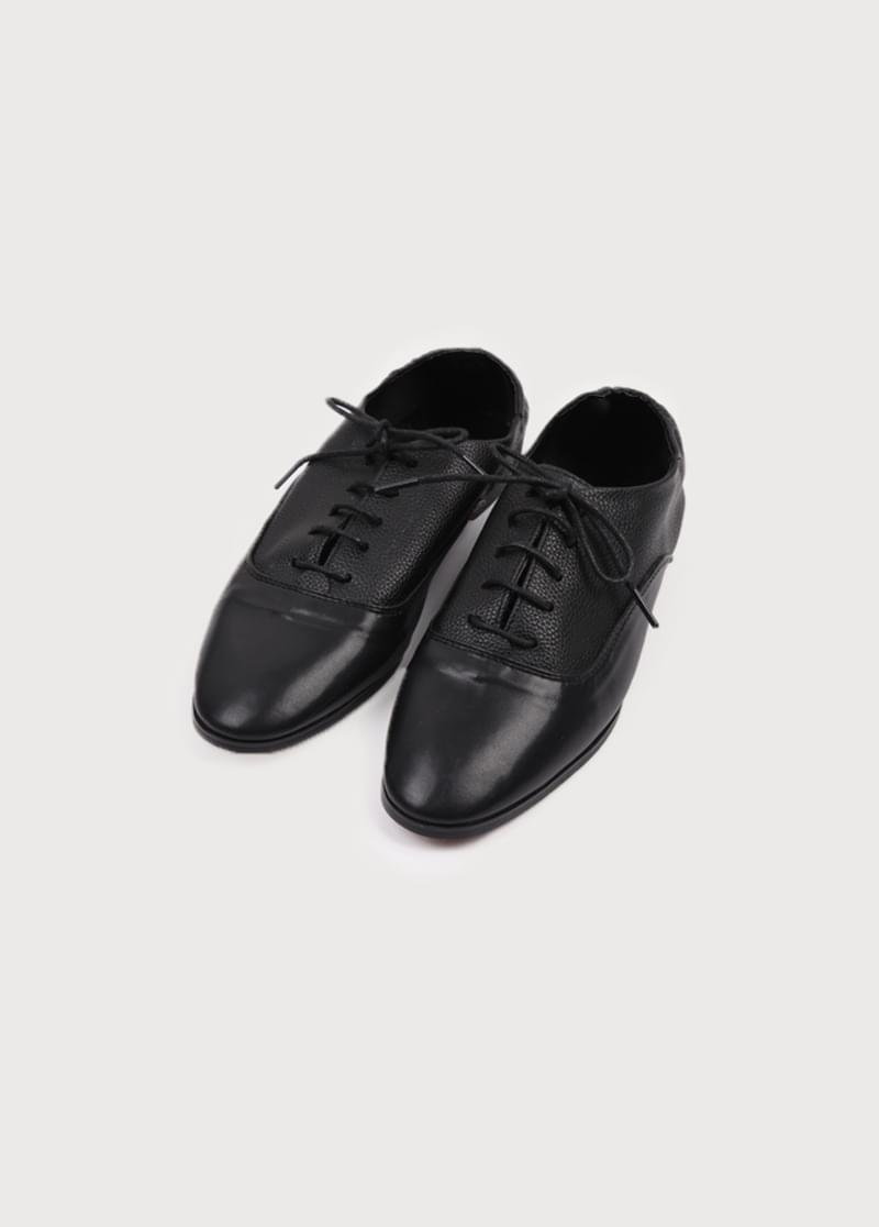 Block Oxford Shoes