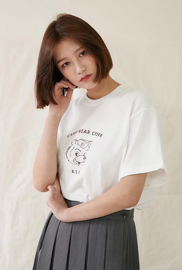 Bear Lettering T-shirt