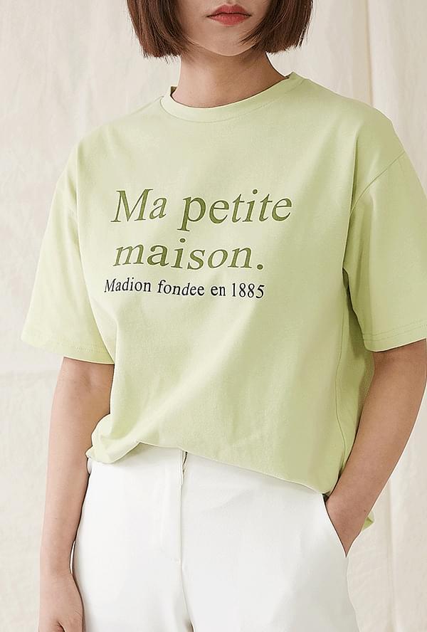 Etopet Lettering T-shirt