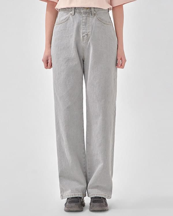 youth maxi denim pants (s, m)