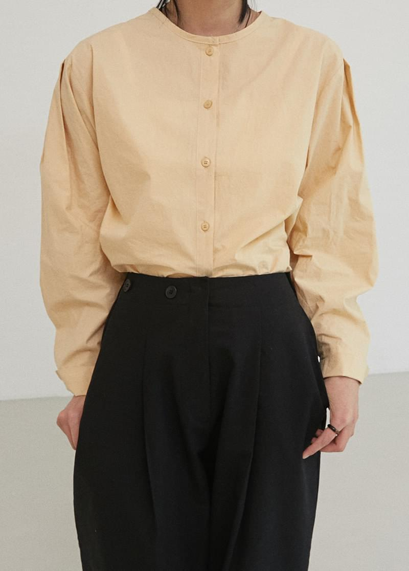 Henry Button Blouse