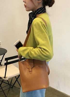 Modern Leather Shoulder Bag