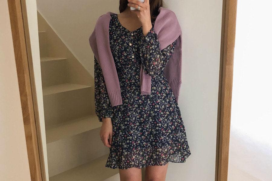 Pearl Levitt Flower Dress dresses