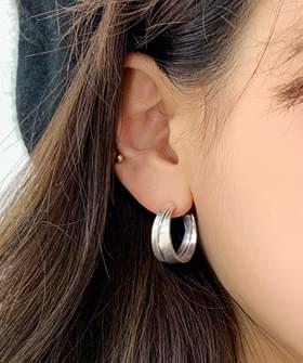 Twin Ring Earrings