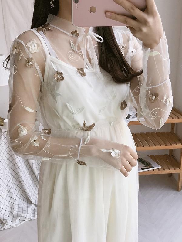 Flora Chiffon Dress