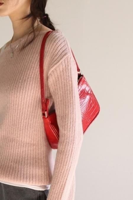 line mini shoulder bag