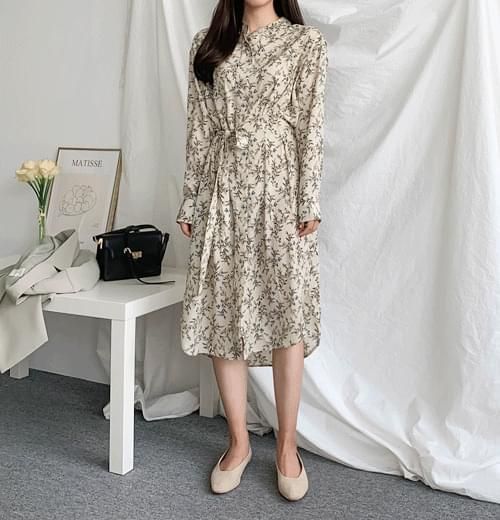 All Reed Flower Dress