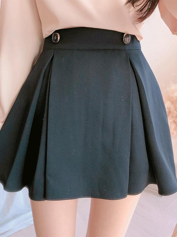 Isabelle Button Skirt