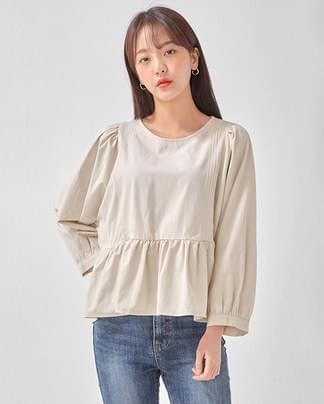 mary frill blouse
