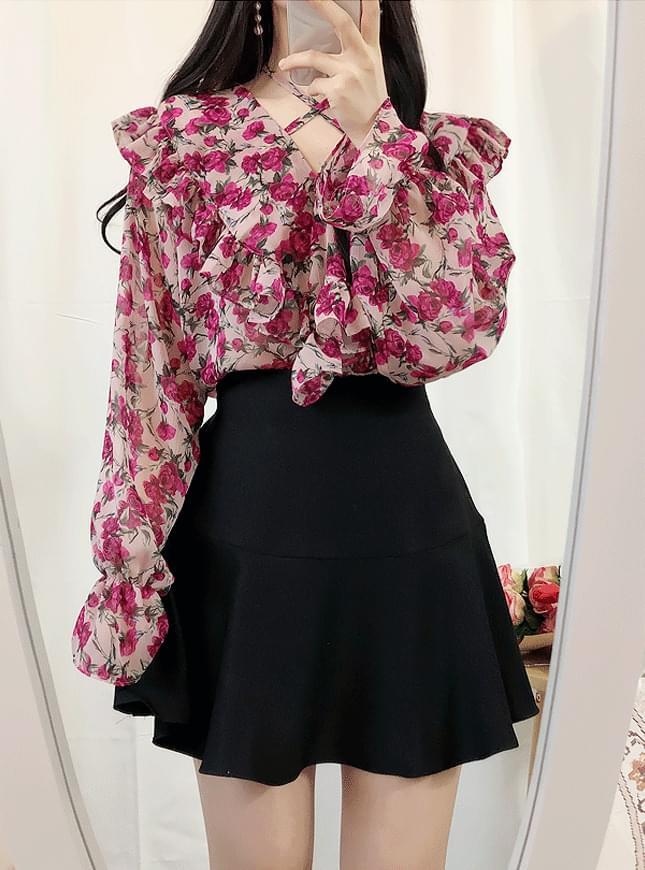 ♥플라워 무드 blouse(3color)