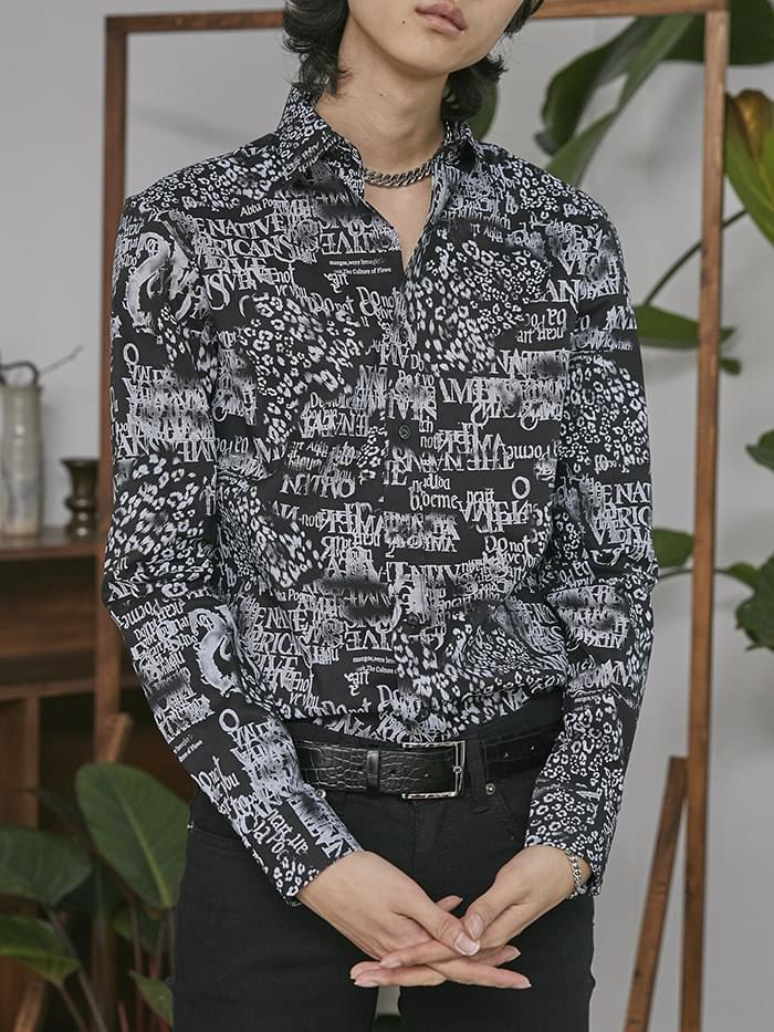 paper leopard shirts (2 color) - UNISEX