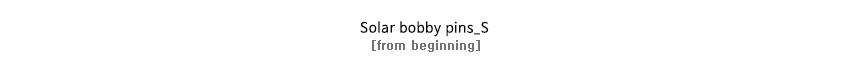 Solar bobby pins_S
