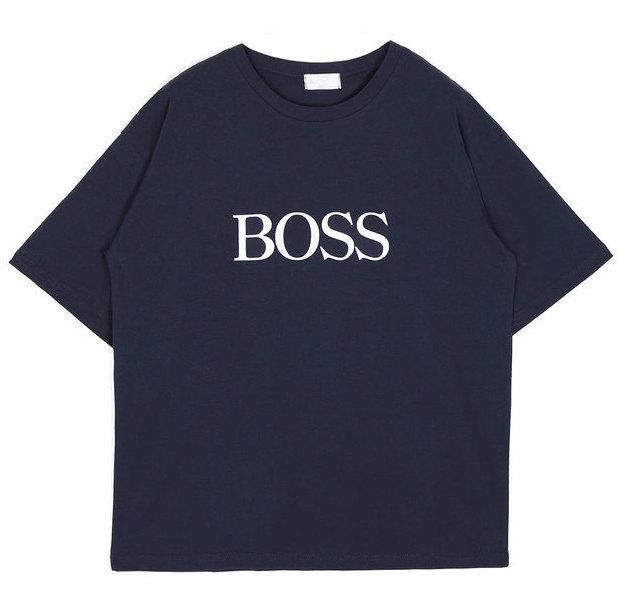 BOSS 1/2 T (2 color) - UNISEX