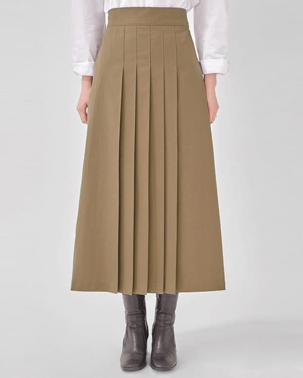 butter pleats skirt 裙子