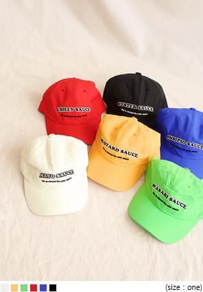 6 COLOR FUN SAUCE BALL CAP