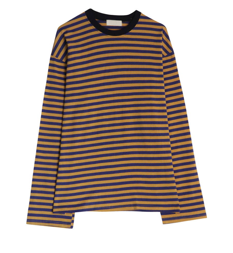 Poodle Striped Tee