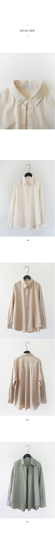 soft cotton shirt (3colors)