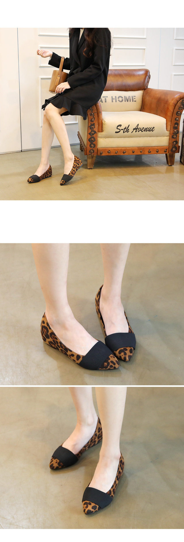 Bellamy height flat shoes 4.5cm