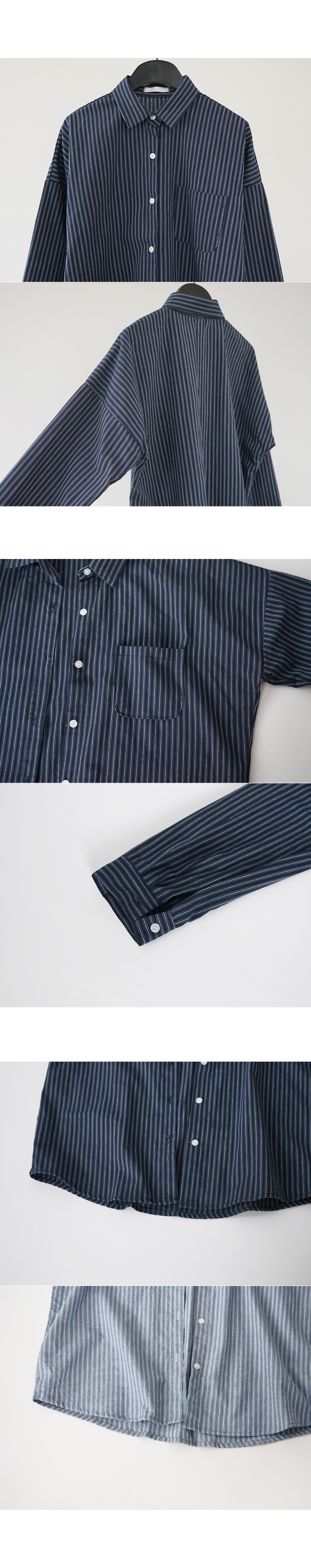neat stripe shirt (3colors)