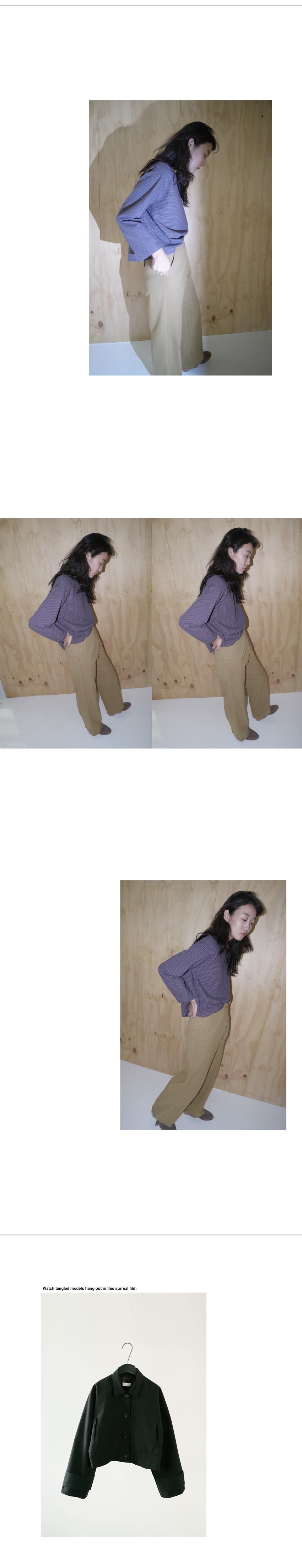 fringe wrap pants (2colors)