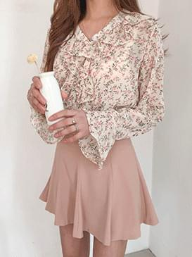 Pearl jju flower blouse