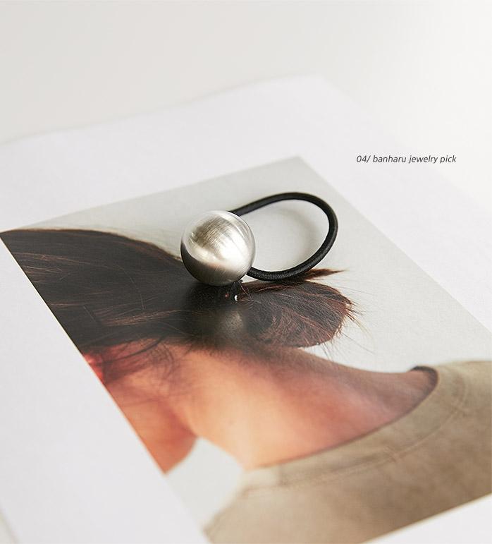 silver ball hairband