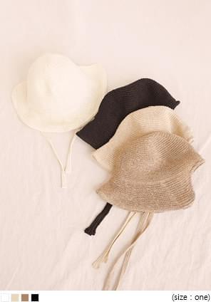 TUBE PAPER BONNET HAT
