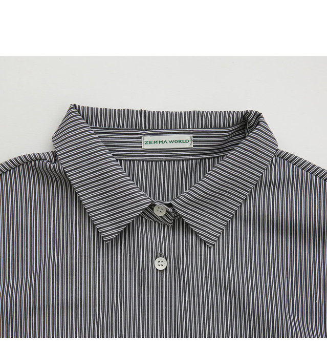 Self-titled / Etoffe-shirt dress