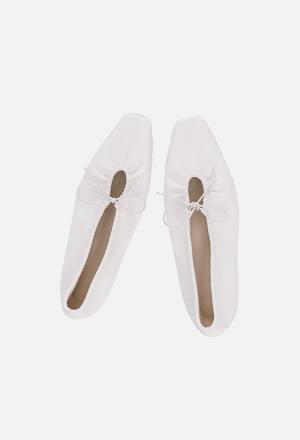 String ribbon flat shoes (3colors)