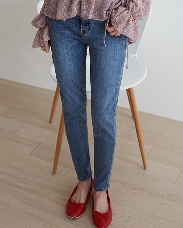 really skinny denim pants
