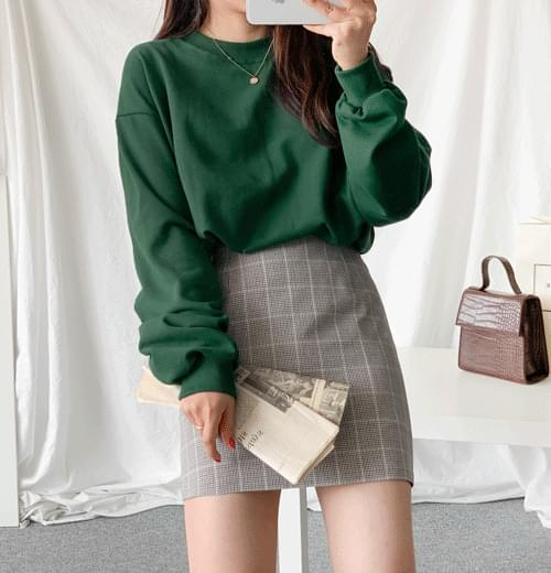Vivienne check skirt