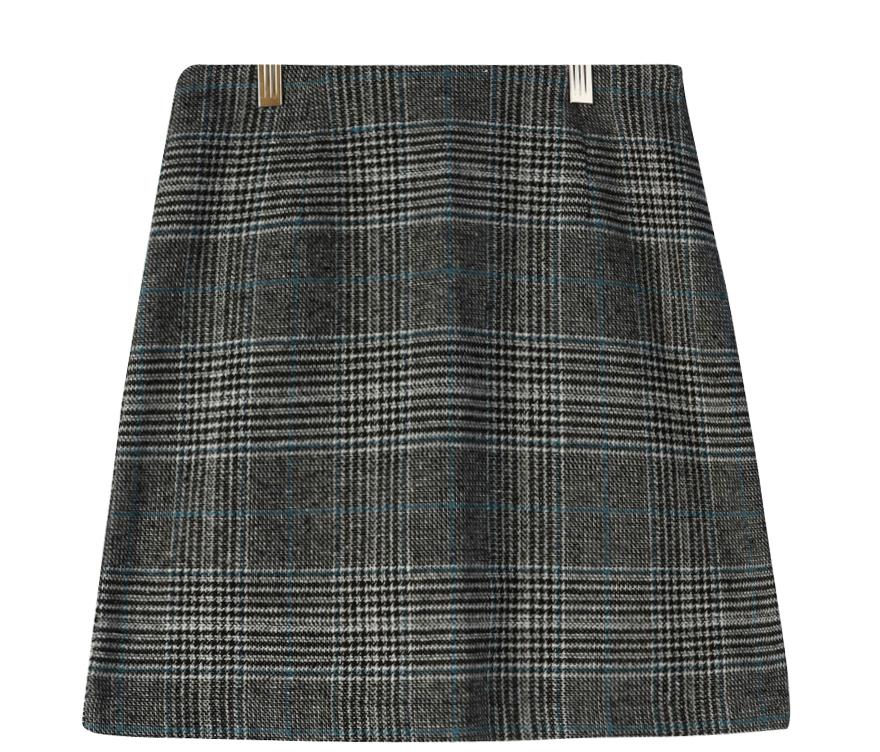 Muffin Hound Check Skirt