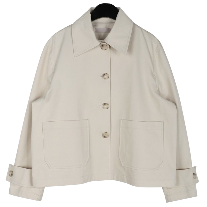 Cotton mini short jacket