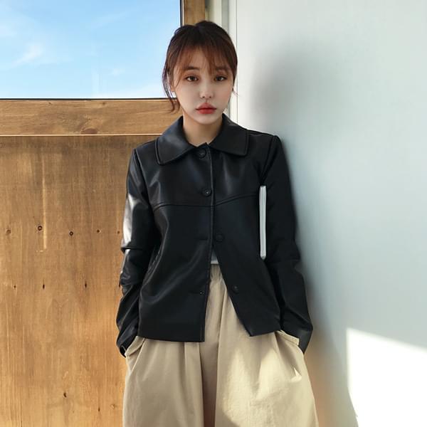Kara leather jacket