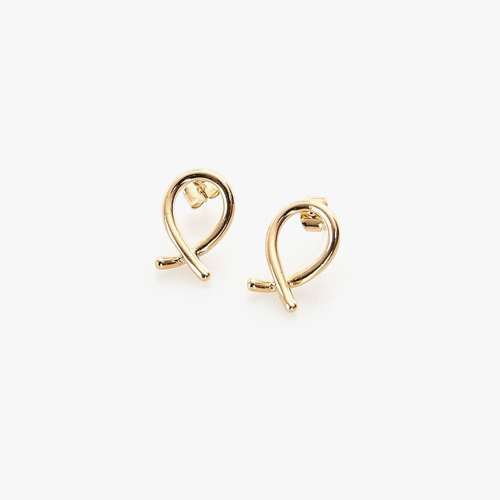 Twisted earring
