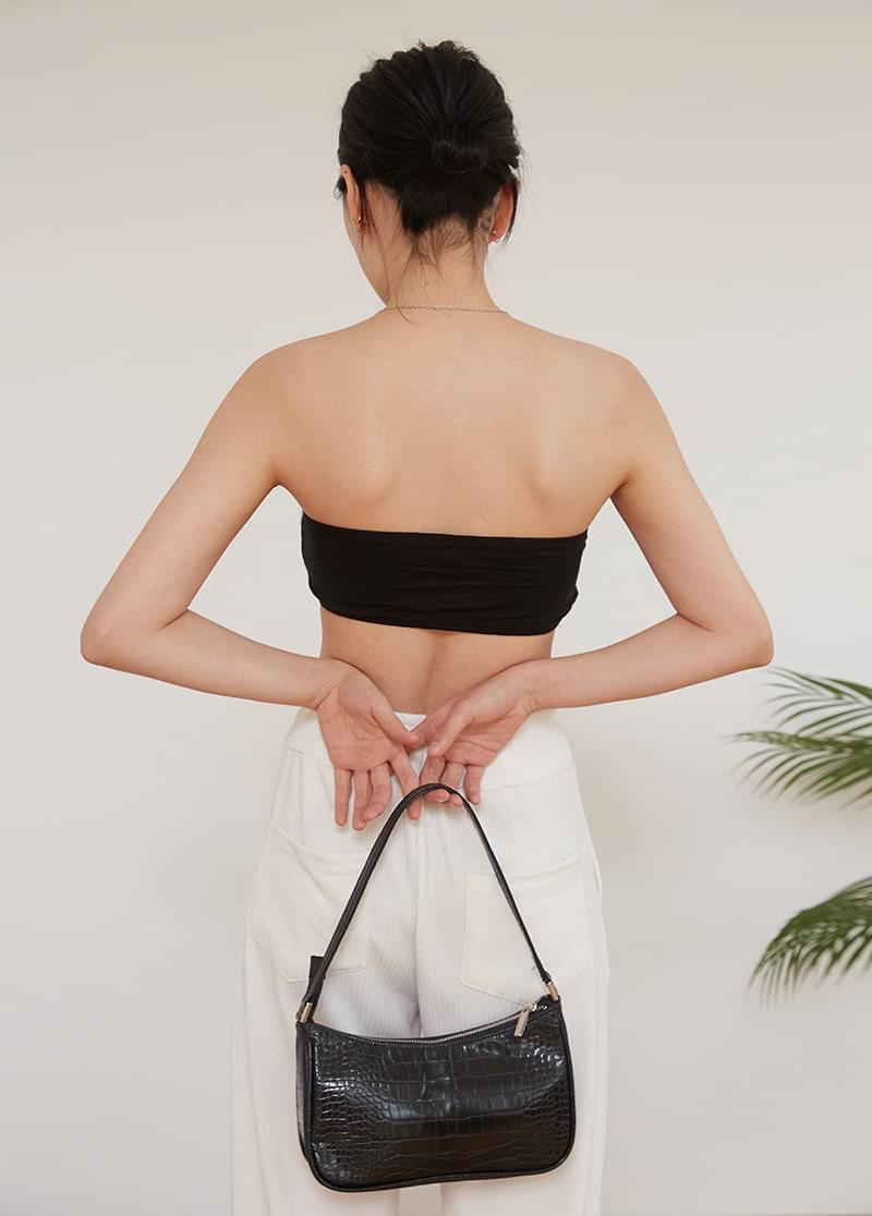 line shoulder bag