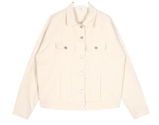 along maxi cotton jacket