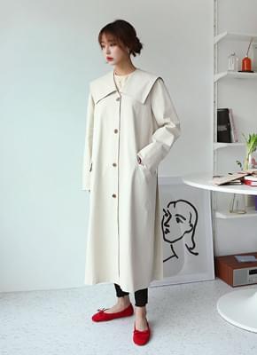 Kitsune trench coat