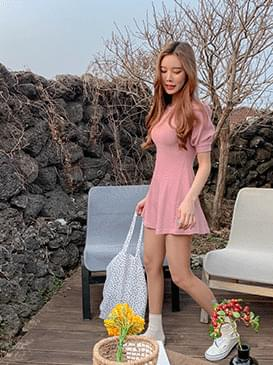 Puff and Mini Dress