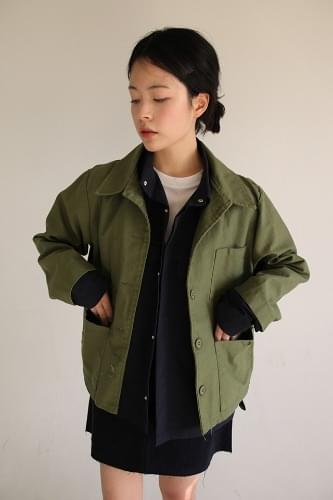 inner pocket cotton jacket