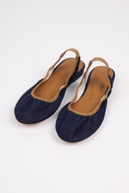 binding slingback shoes